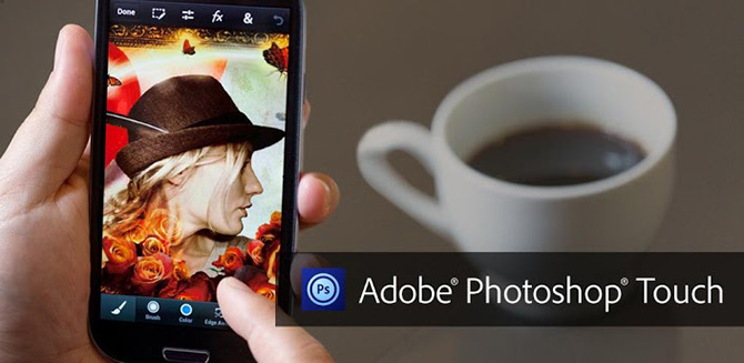 Photoshop Touch for phone - фотошоп для Android смартфона