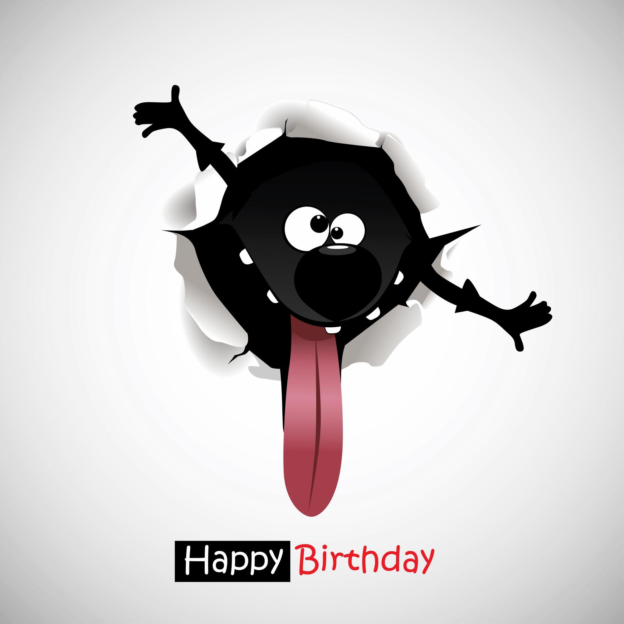 Креативная открытка день рождения