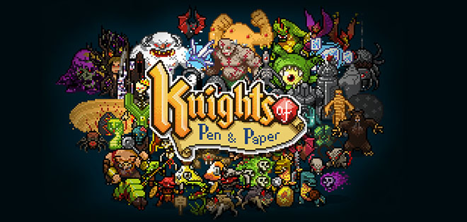 Knights of Pen and Paper v2.34 + DLC - на русском