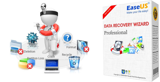 EaseUS Data Recovery Wizard Professional 10.5.0 на русском + ключ