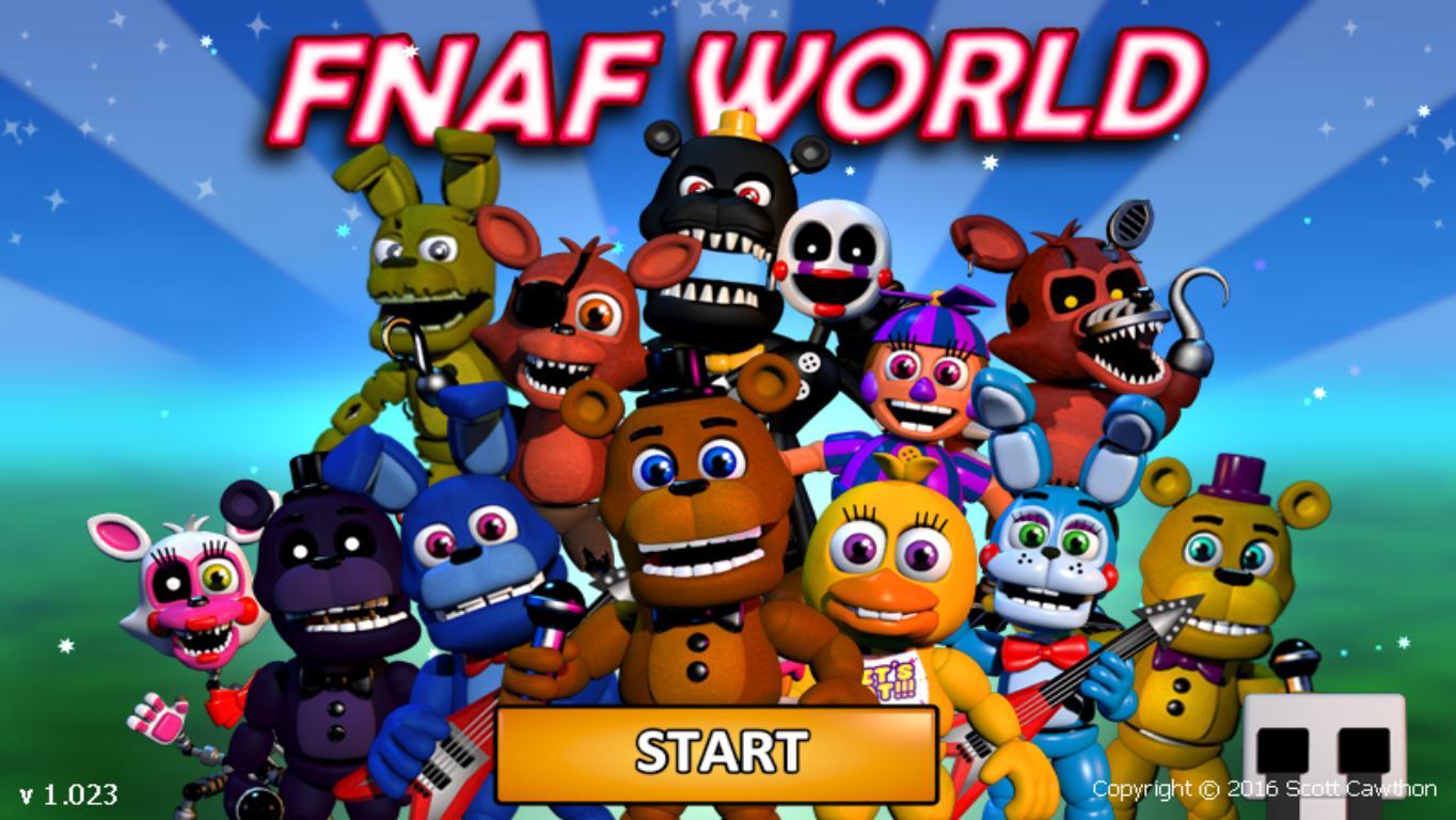 Скачать fnaf world на пк.