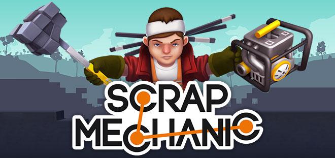 Scrap mechanic (2016) скачать торрент бесплатно на pc.
