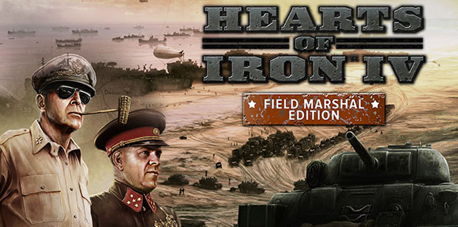 Hearts of Iron 4: Field Marshal Edition v1.8.1 – торрент