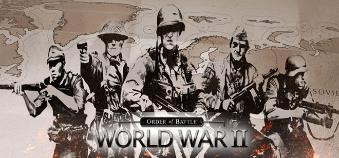 Order of Battle: World War 2 v7.1.8 + 10 DLC на русском – торрент