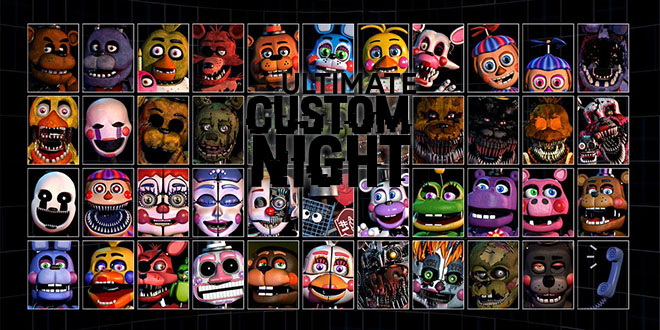 Ultimate Custom Night v1.033 - полная версия