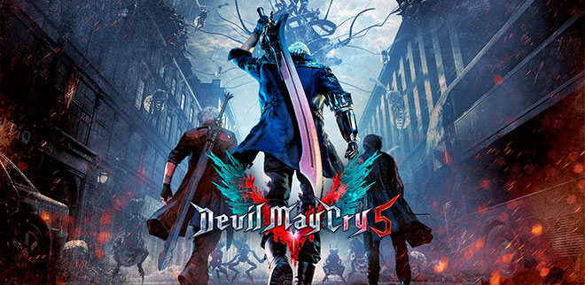 Devil May Cry 5: Deluxe Edition v1.0 + DLC – торрент