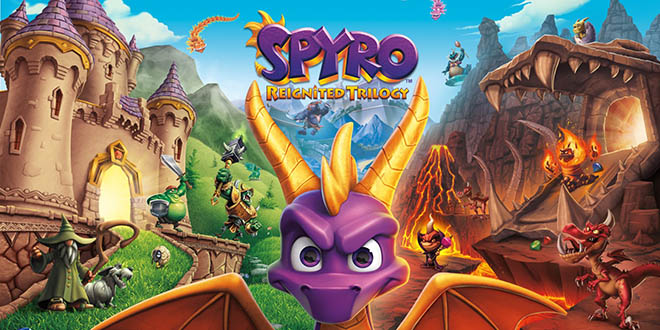 Spyro Reignited Trilogy v1.0 - торрент