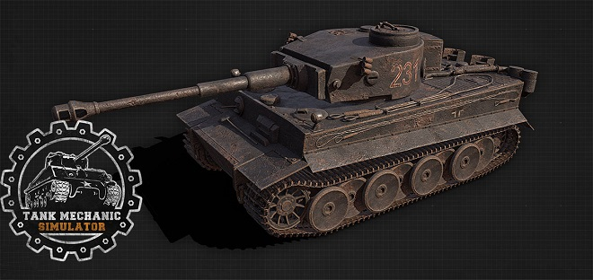 Tank Mechanic Simulator v1.0.14 - торрент