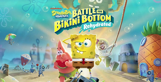 SpongeBob SquarePants: Battle for Bikini Bottom - Rehydrated v603296 + Multiplayer